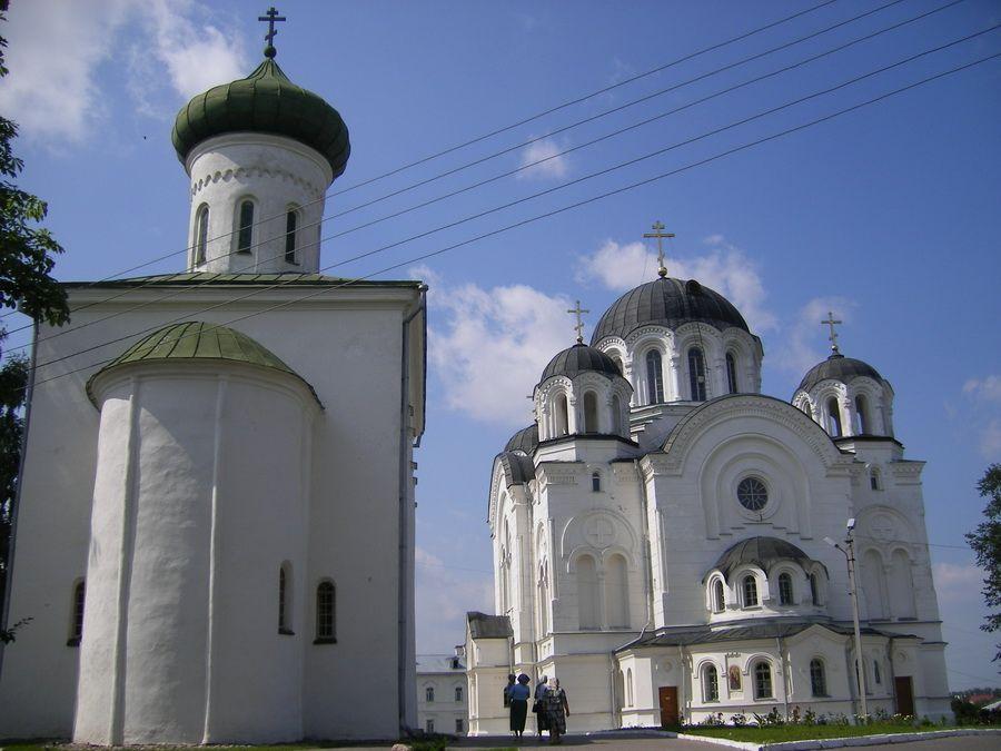 Монастырь святой Ефросиньи или Спасо-Ефросиньевский монастырь в Полоцке фото