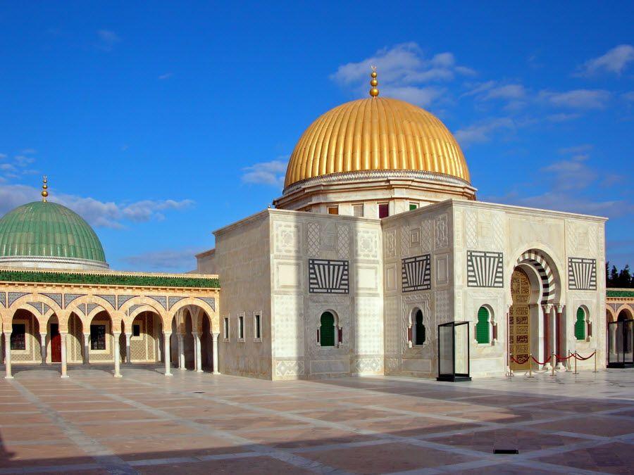 Фото мавзолей Хабиба Бургиба в городе Монастир Туниса