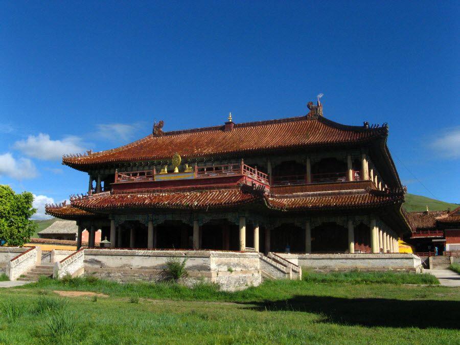 Фото самого старого буддийского храма в Монголии
