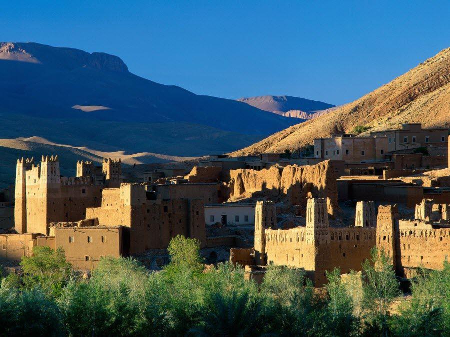 Фото руины древнего города Касбах
