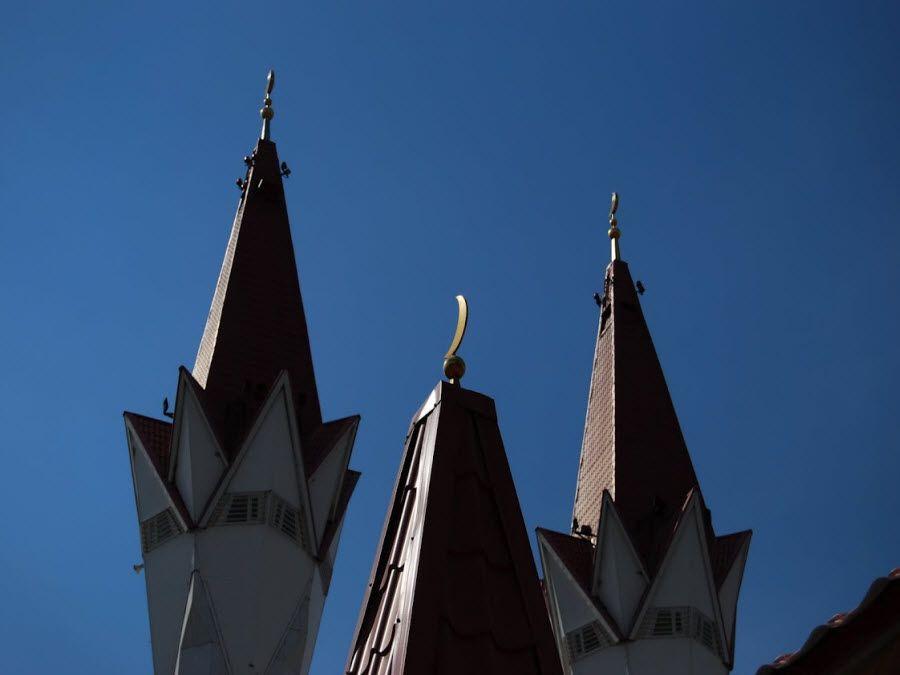 Фото мечеть Ляля Тюльпан вид вблизи