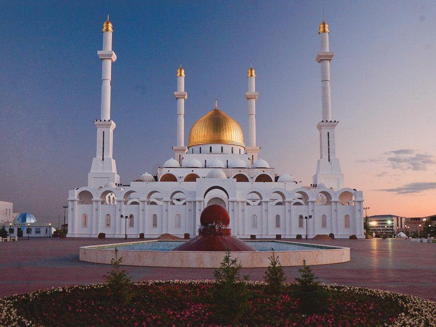 Фотография мечети Нур-Астана