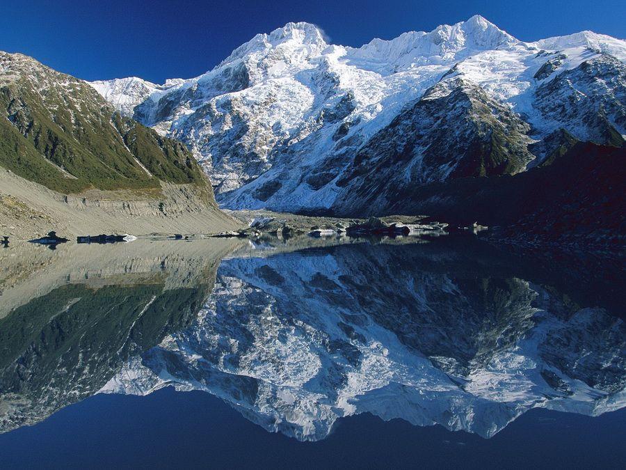 Фото Национального парка Маунт Кук в Новой Зеландии