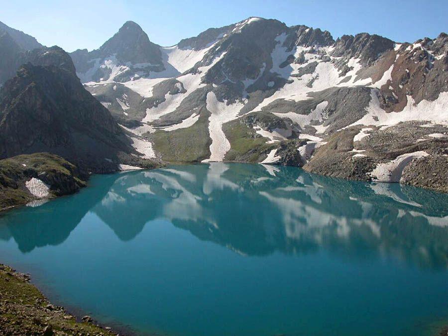 Фотография Голубого Муруджинского озера