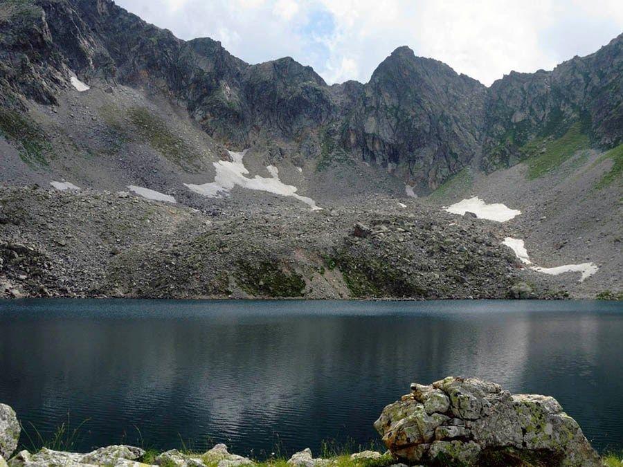 Фотография Черного Муруджинского озера