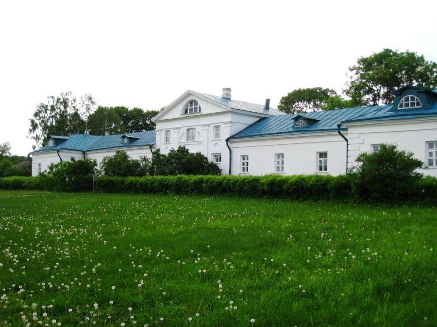 Панорама музея-усадьбы Ясная Поляна фото