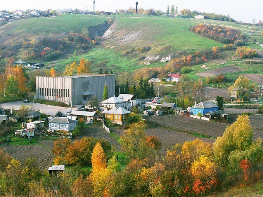 Археологический музей-заповедник Костёнки в Воронежской области панорама фото