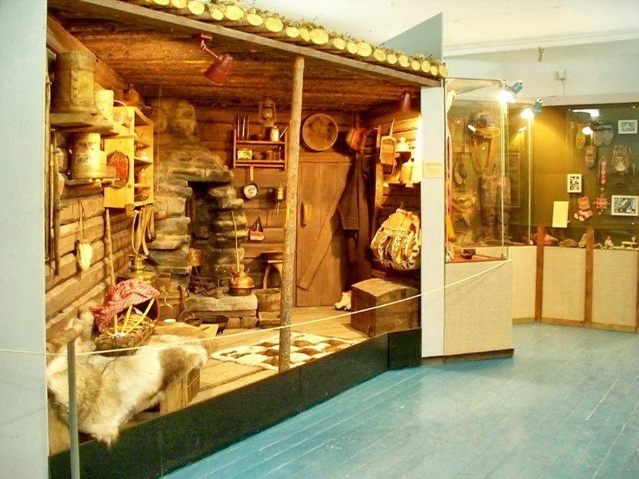 Музей истории кольских саамов вид изнутри фото