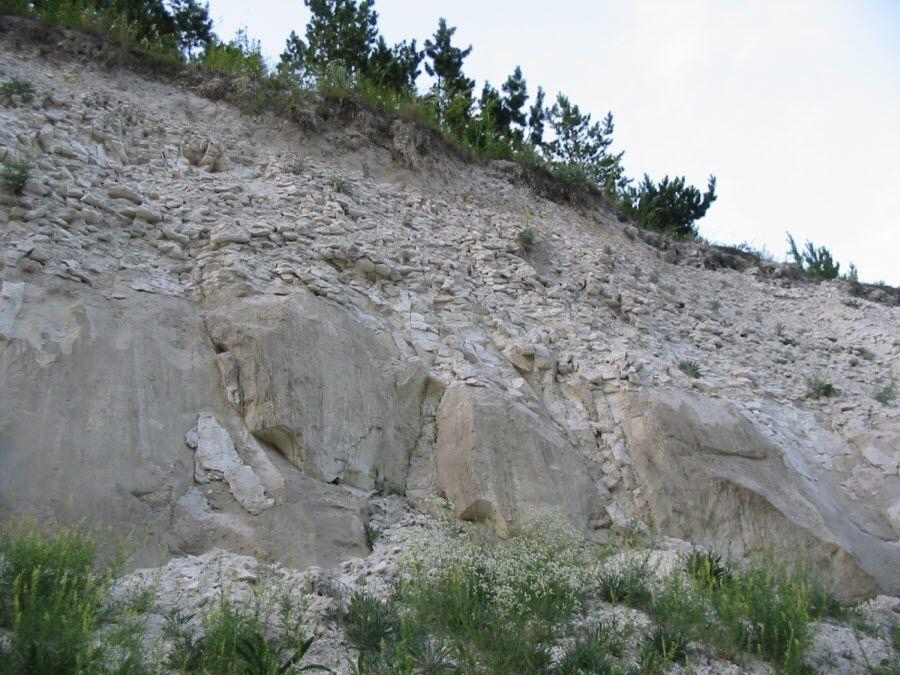 Вид на гору Национального парка Хвалынский фото