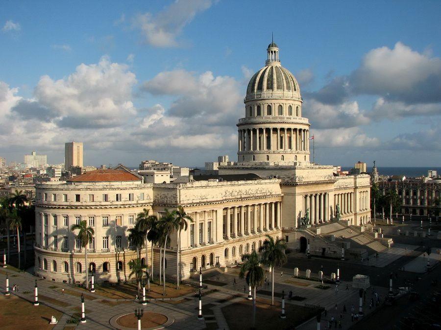 Фото Национального Капитолия в Гаване