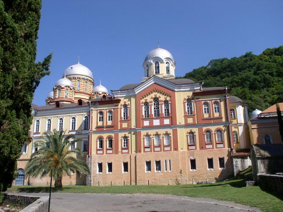 Фото Ново-Афонского (Симоно-Кананитского) мужского монастыря в Абхазии