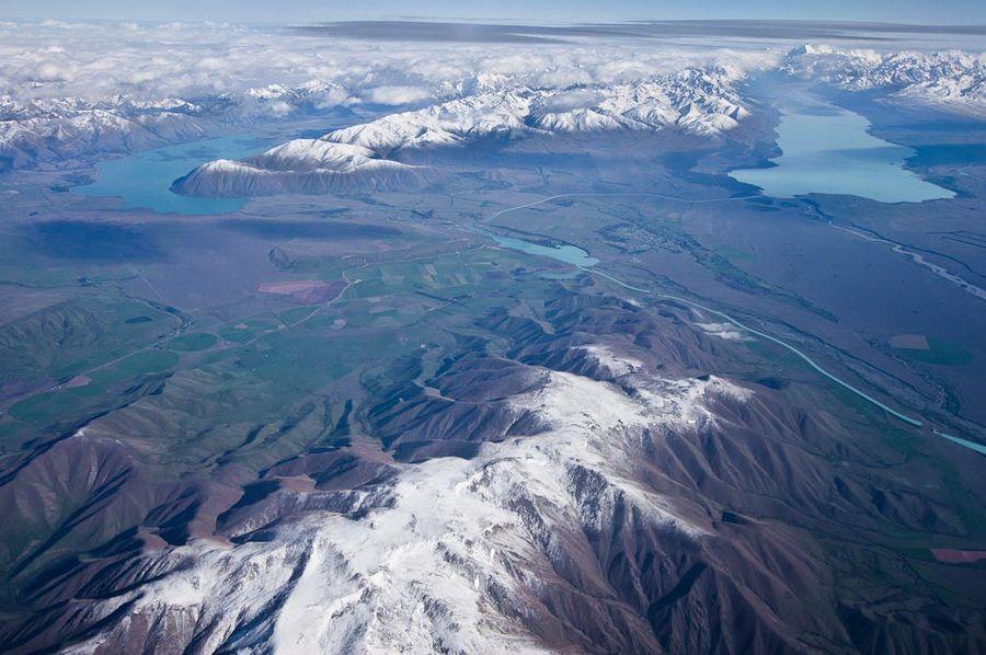 Фото Новозеландские Альпы