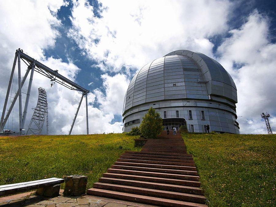 Фотография обсерватории в Нижне-Архызском историческом комплексе