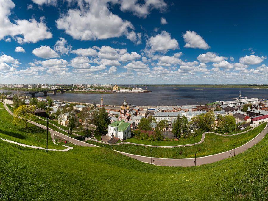 Красивый город Нижний Новгород фото