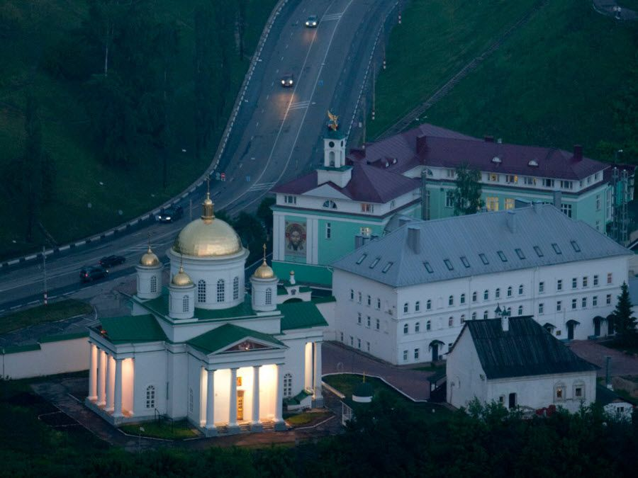 Монастырь в Нижегородской области фото