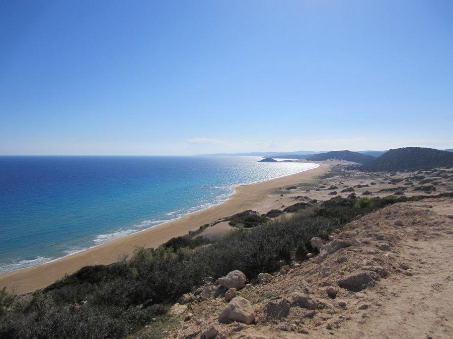Фото пляжа на Северном Кипре