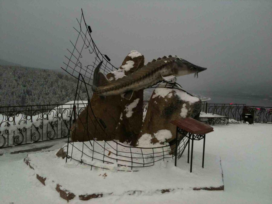 Фото смотровая площадка «Царь-Рыба»