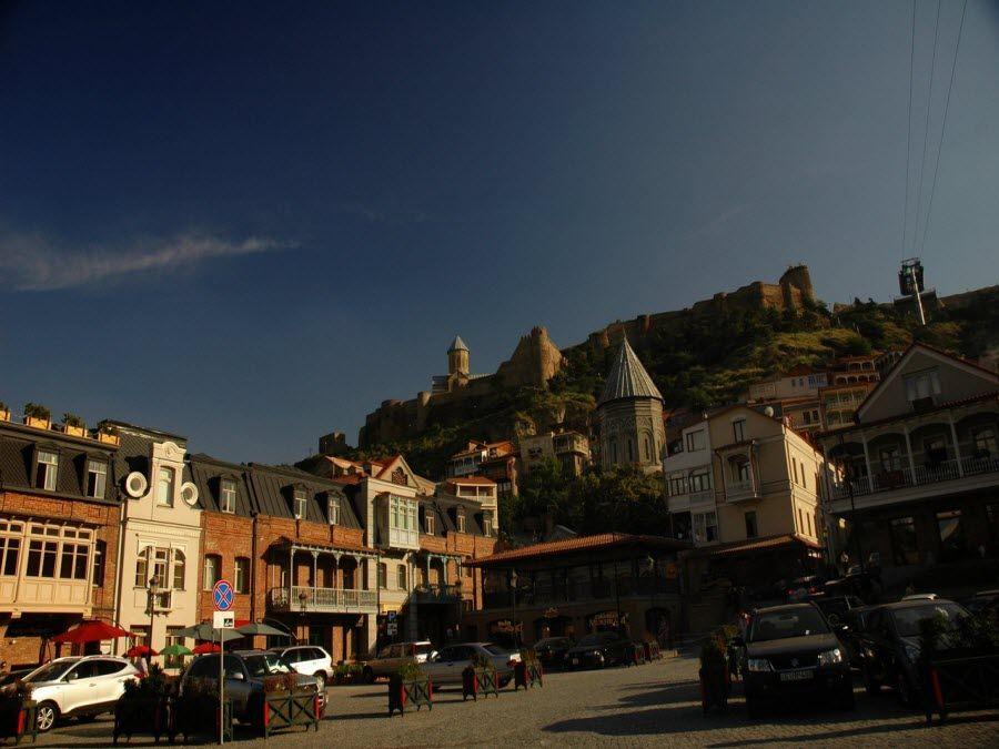 Старый Город в Тбилиси фото