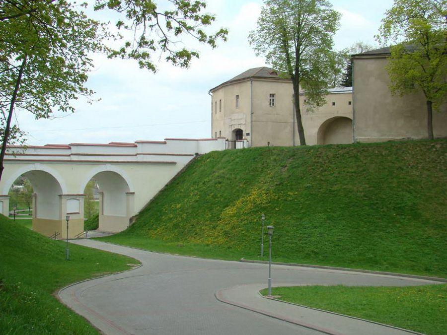 Старый замок в Гродно фото