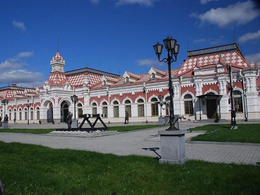 Фото архитектуры Екатиренбурга