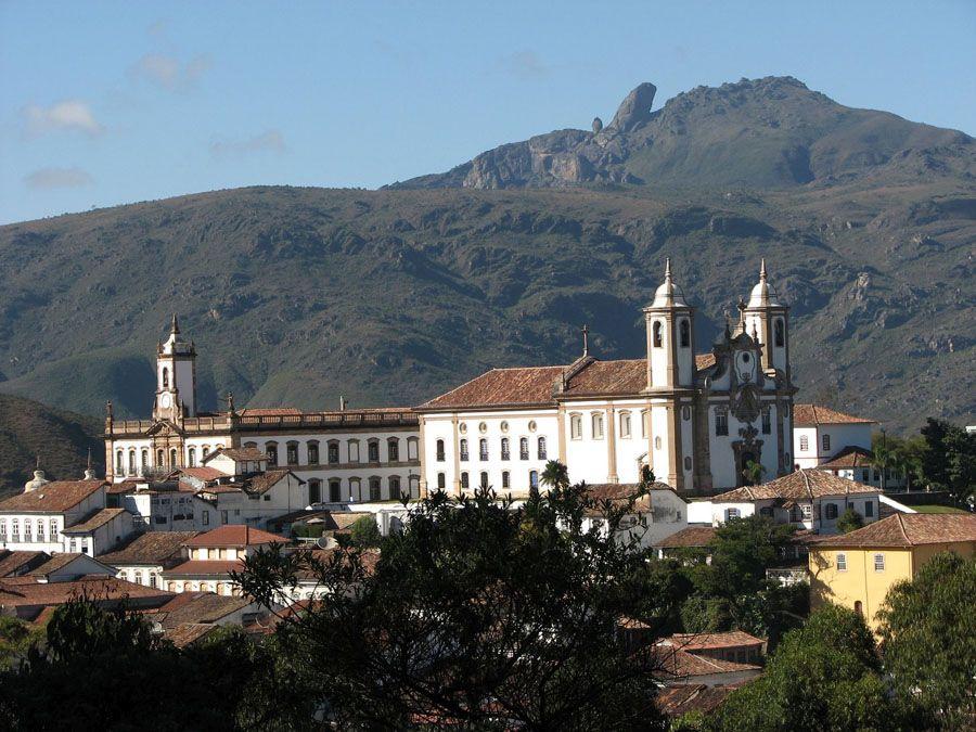 Город Ору-Прету в Бразилии фотография