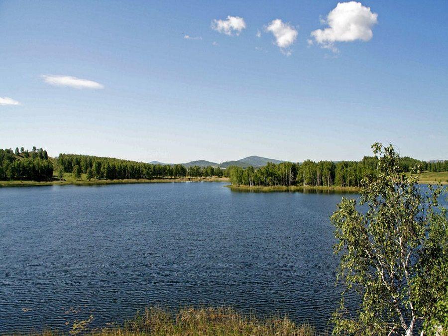 Фотография озера Карагайкуль