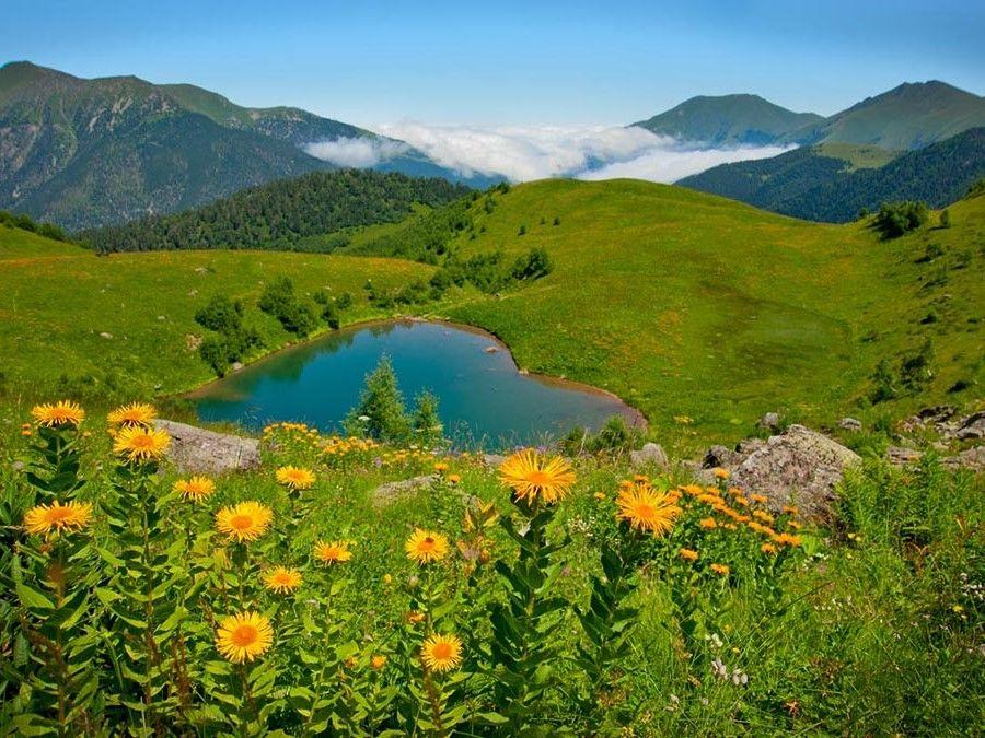 Озеро Любви фото Карачаево-Черкессия