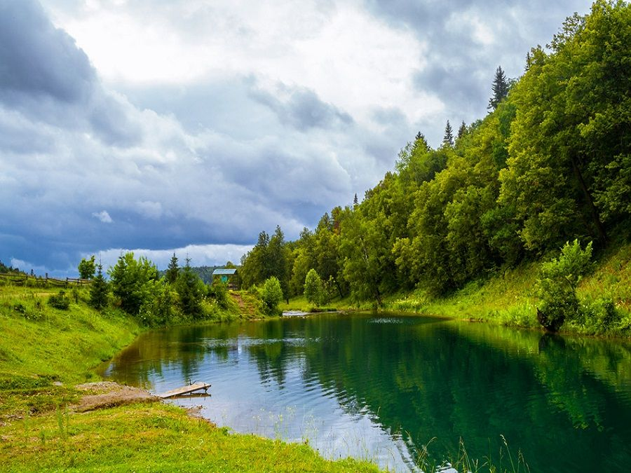 Фотография озера-родника Сарва