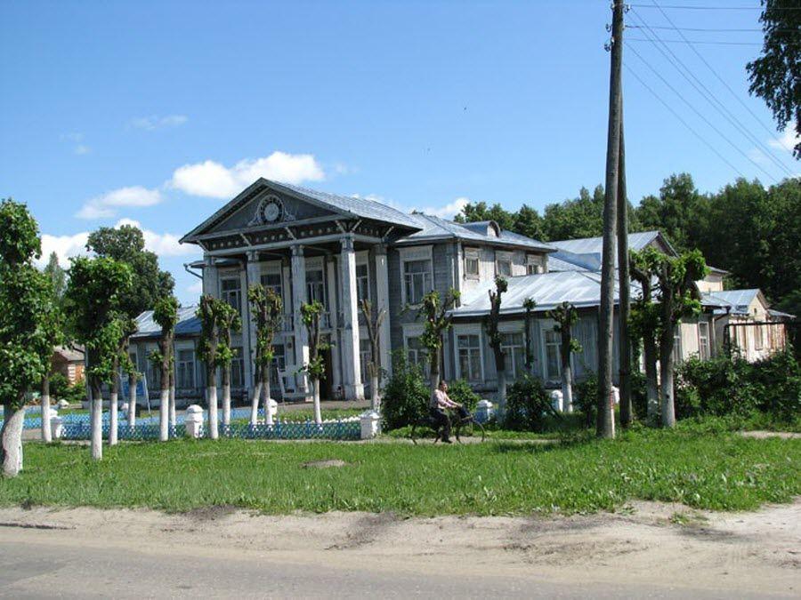 Архитектура Палеха Ивановской области фото