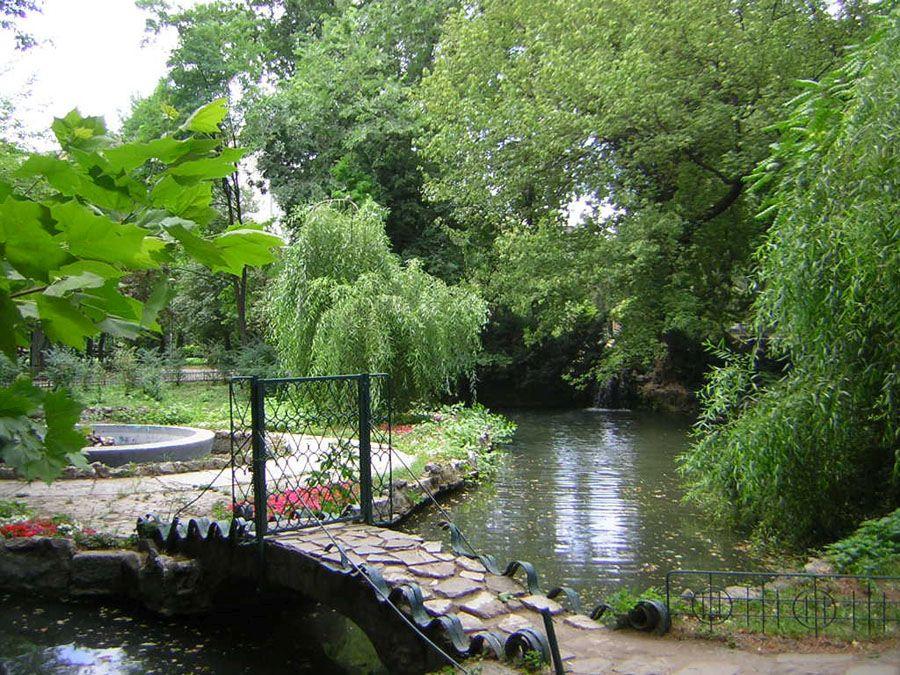 Парк на озере Чишмиджиу фотография