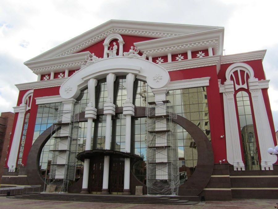 Фото архитектуры в Саранске Пензенской области