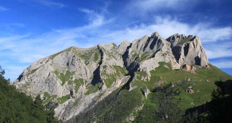 Фото перевала Чертовы ворота на горе Ачешбок