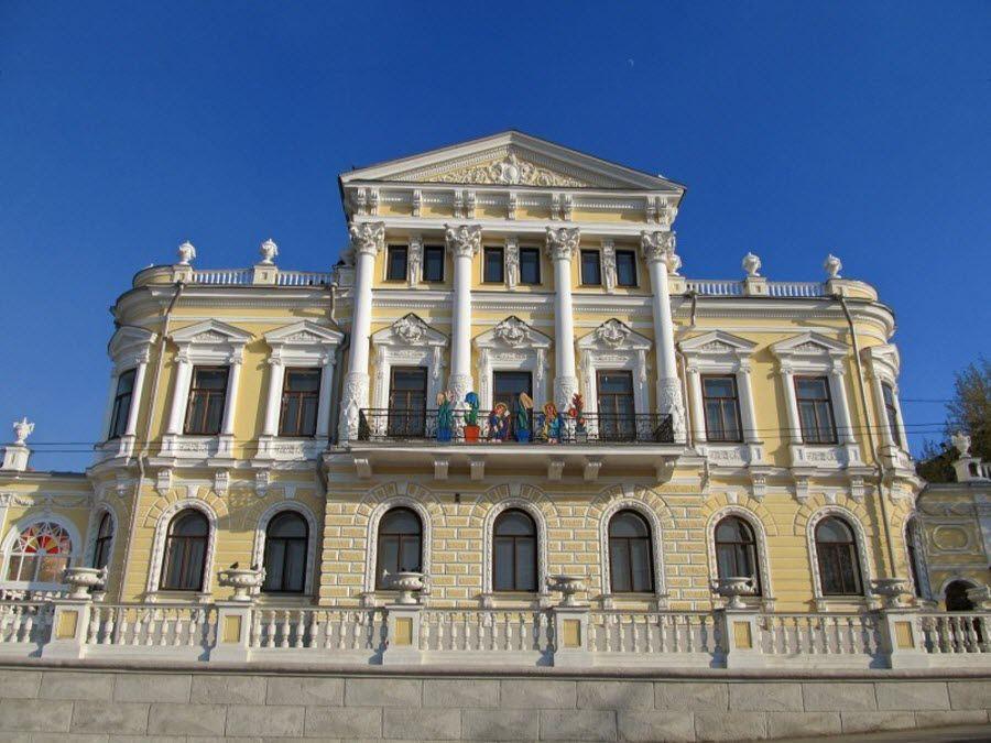 Пермский краевой музей в Доме Мешкова фотография