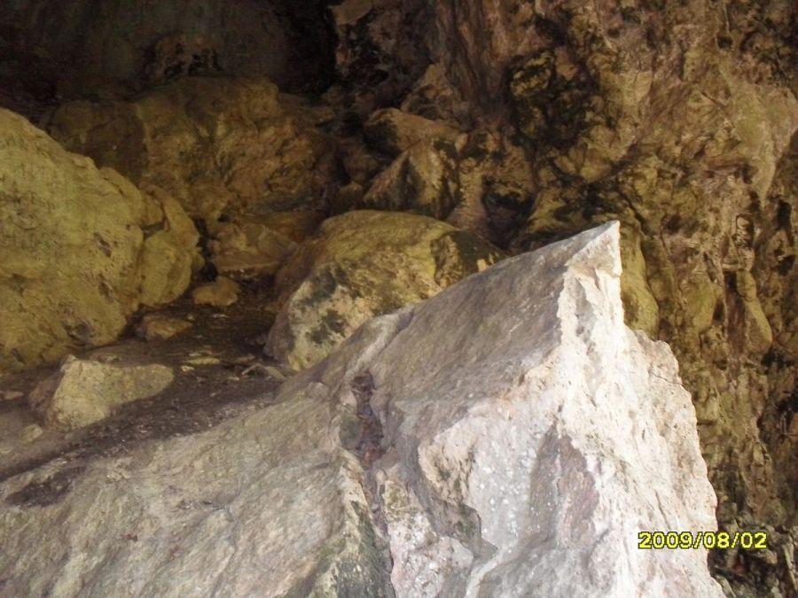 Пещера Сквозная фотография