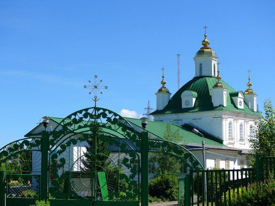 Петропавловский собор в Перми фотография