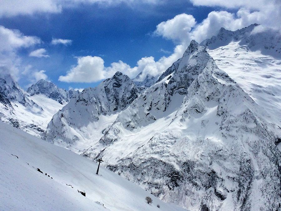 Фотография вершины пика Инэ