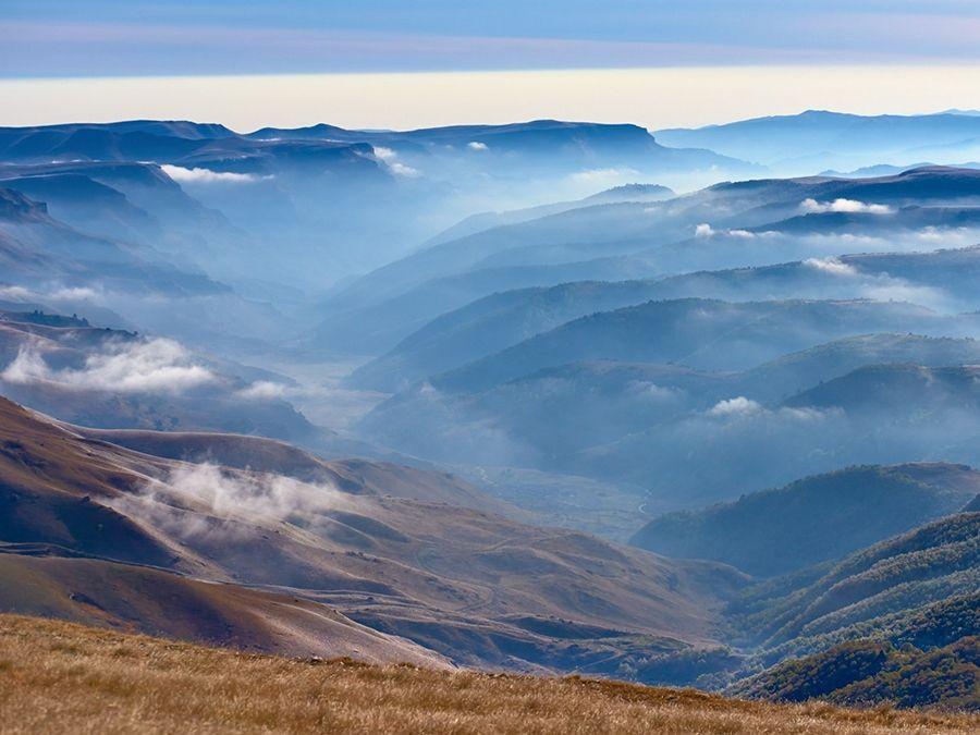Фотография Фотография вида с плато Бермамыт