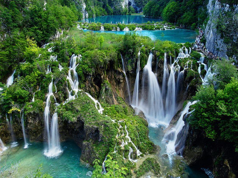 Плитвицкие озера фото Хорватии