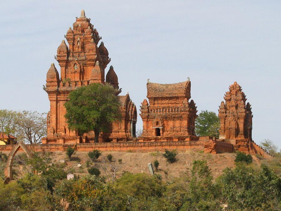 Фото башен Чамов – Башни По-Клаунг-Гарай во Вьетнаме