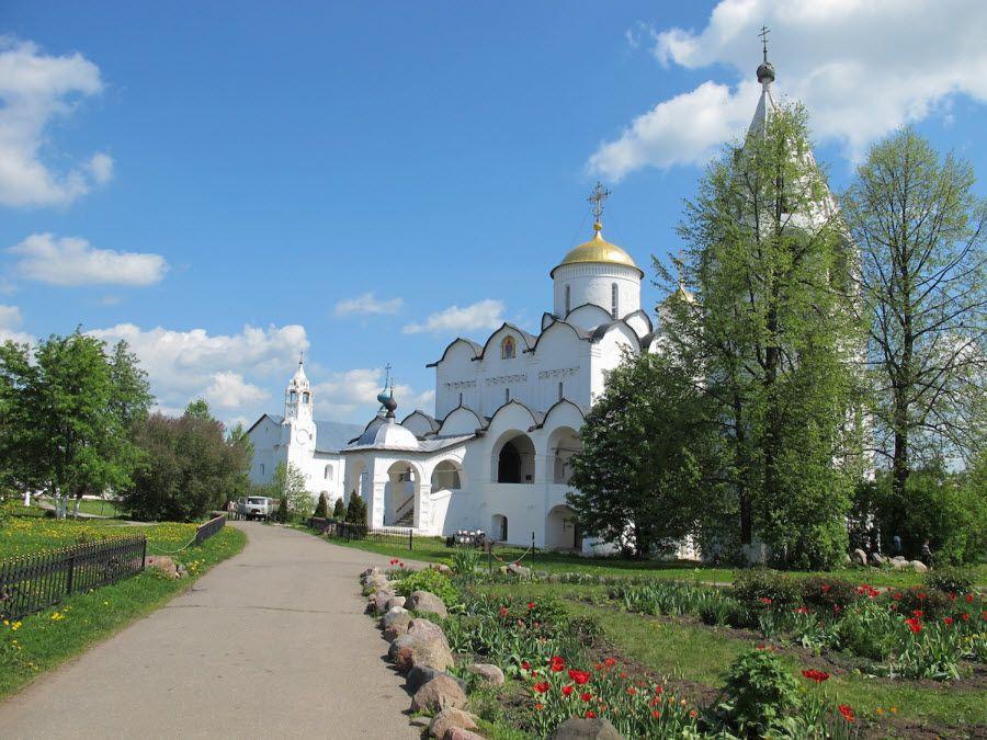 Панорама Покровского монастыря Владимирской области фото