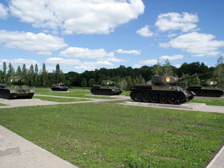 Прохоровское поле в Белгородской области фото