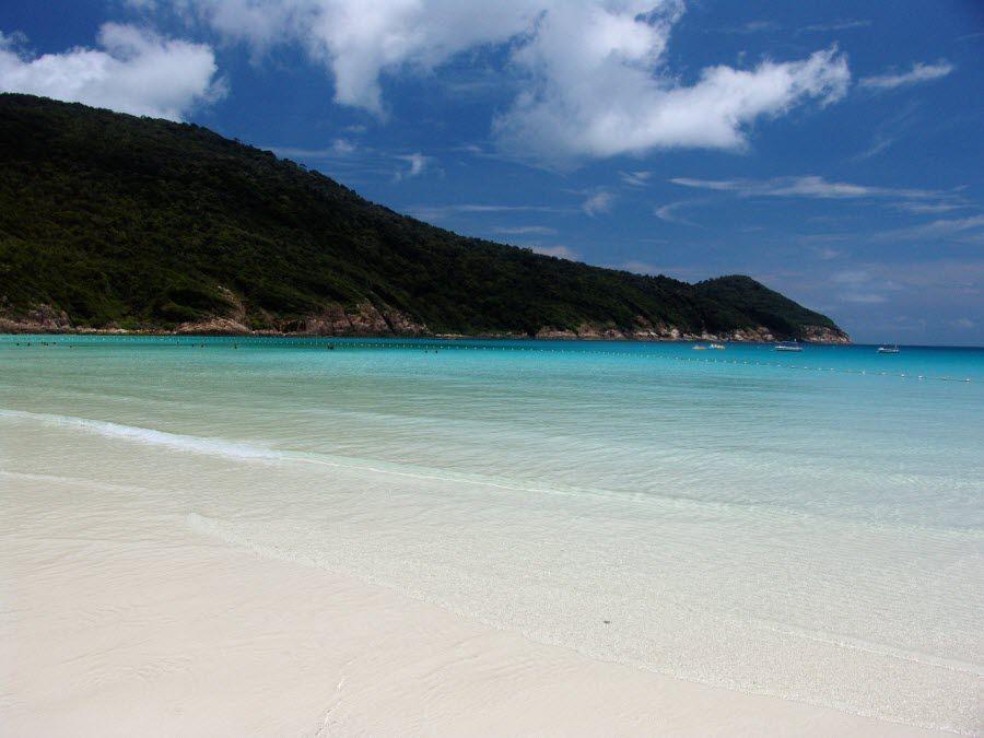Вид на остров Реданг фото