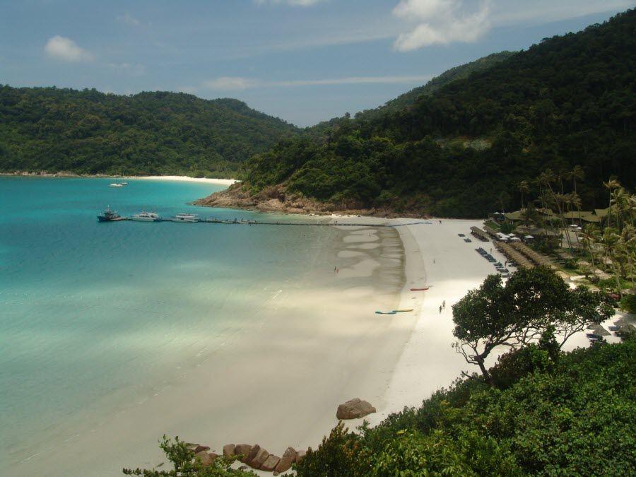 Фото панорама острова Пулау Реданг