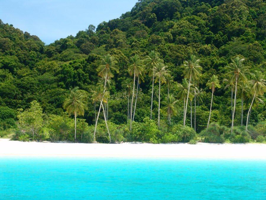 Фото невероятного острова Пулау Реданг