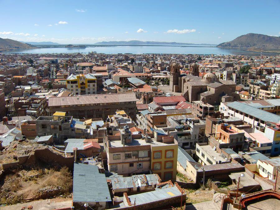 Город Пуно фотография