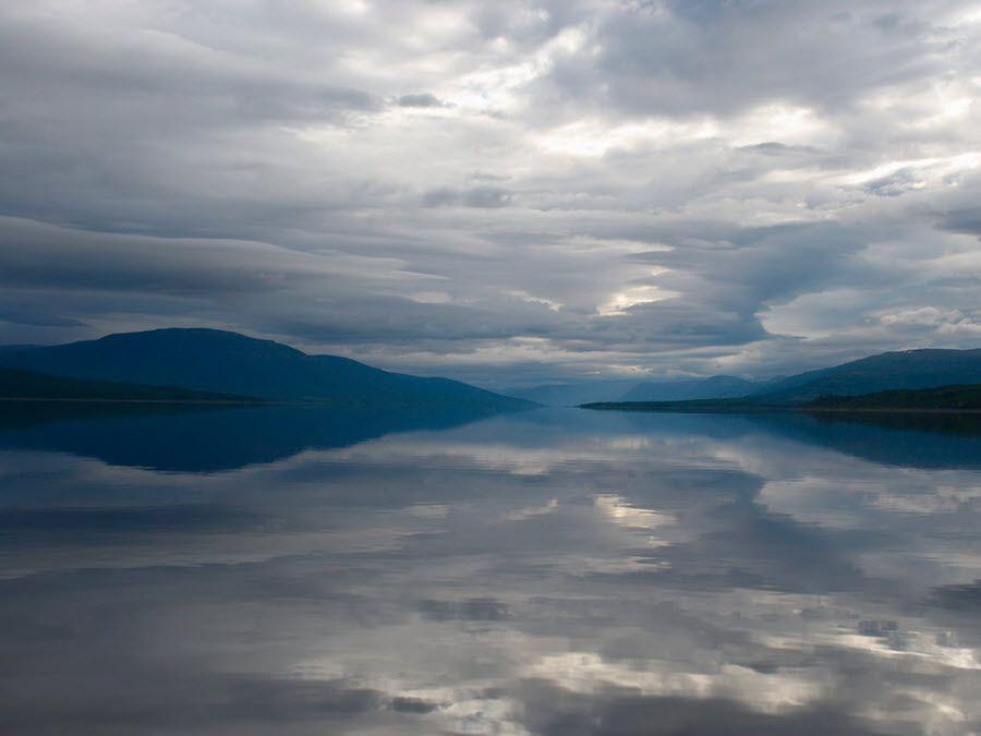 Фото панорама плато Путорана