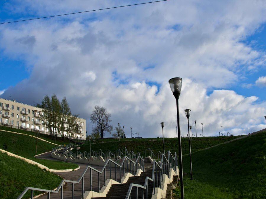 Фото Набережной Федоровского в Нижнем Новгороде