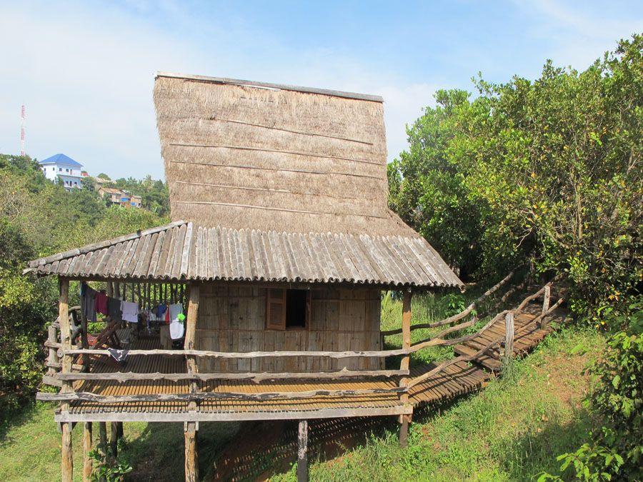 Домик для туристов в Ратанакири фотография