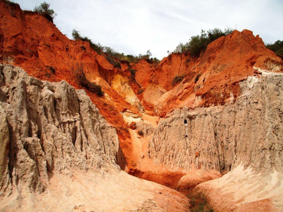 Фотография Красного каньона во Фантьете Вьетнам