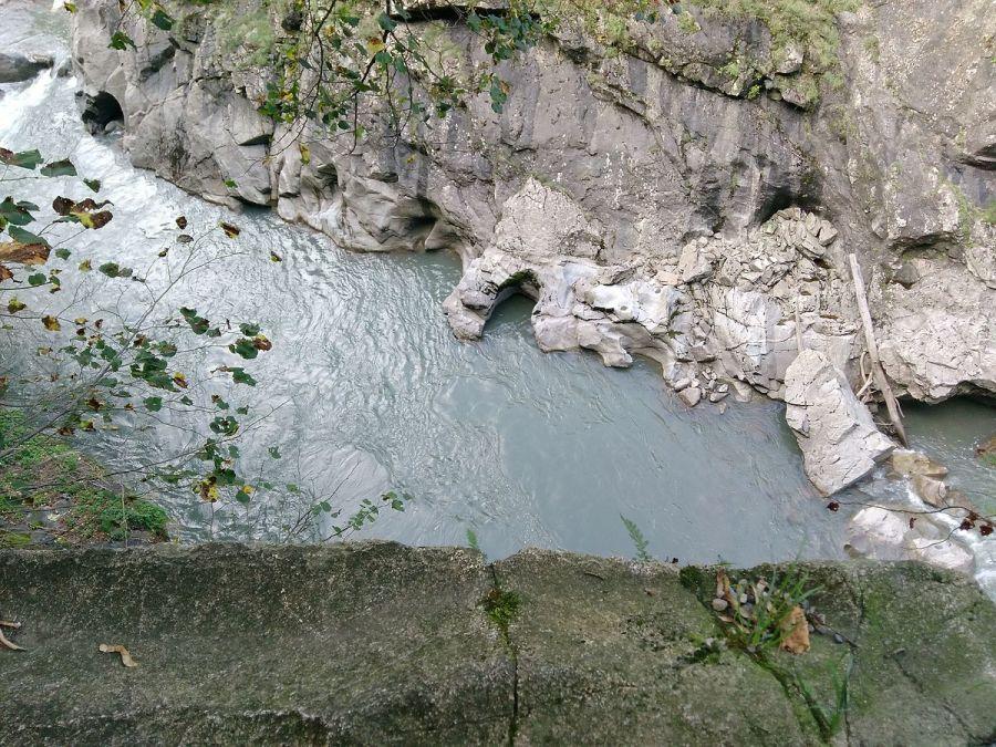 Река Белая вид сверху фотография